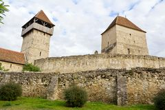 Câlnic城堡II 图库摄影