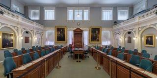 Câmara da assembleia legislativa de Nova Scotia Fotografia de Stock