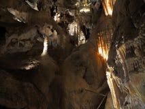 Câmara da caverna da pedra calcária - cavernas de Jenolan imagem de stock royalty free
