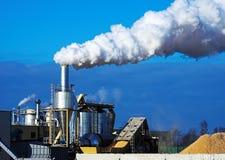 Câmara de ar de fumo Imagens de Stock Royalty Free
