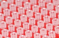 Câmara de ar de teste da ciência Fotografia de Stock