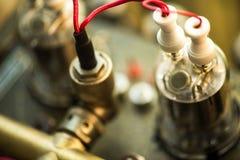 Câmara de ar de vácuo eletrônica Foto de Stock