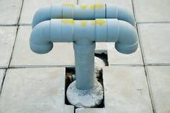 Câmara de ar em telhas Imagens de Stock Royalty Free