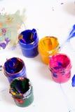 Câmara de ar suja da pintura Imagem de Stock Royalty Free