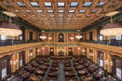 Câmara de casa de Michigan fotos de stock