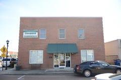 Câmara de comércio, Somerville do Condado de Fayette, TN foto de stock