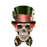 Câmara de Dia das Bruxas da arte de Digitas dos crânios Foto de Stock