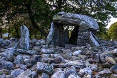 Câmara de enterro de Dyffryn Ardudwy Foto de Stock Royalty Free