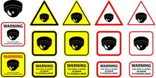 Câmara de segurança 04 ilustração stock