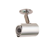 Câmara de segurança do CCTV com a instalação imagens de stock royalty free