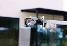 Câmara de segurança exterior, cctv exterior Imagens de Stock