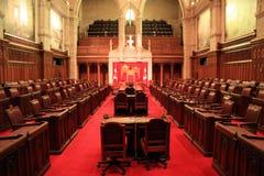 A câmara de Senado, Ottawa. Foto de Stock
