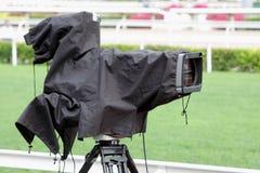 Câmara de televisão da transmissão Foto de Stock Royalty Free