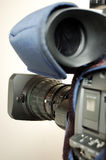 Câmara de televisão da transmissão Imagens de Stock
