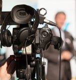 Câmara de vídeo Foto de Stock Royalty Free