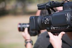 Câmara de vídeo Fotografia de Stock