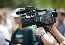 Câmara de vídeo Imagem de Stock Royalty Free