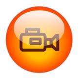 Câmara de vídeo ilustração stock