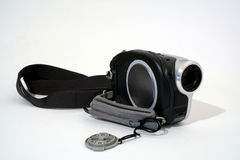 Câmara de vídeo compacta fotos de stock