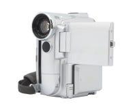 Câmara de vídeo de Digitas isolada no fundo branco. Imagens de Stock