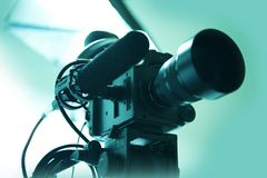 Câmara de vídeo de HD Imagens de Stock Royalty Free
