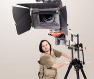 Câmara de vídeo de Hd Fotografia de Stock Royalty Free