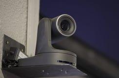 Câmara de vídeo de HD montada Imagem de Stock