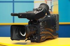 Câmara de vídeo digital profissional Foto de Stock Royalty Free
