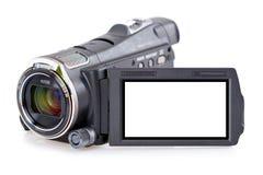 Câmara de vídeo eletrônica fotografia de stock