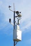 Câmara de vídeo para monitorar condições do tráfego Imagem de Stock