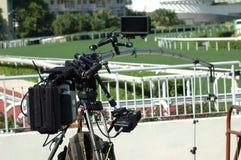 Câmara de vídeo video imagem de stock royalty free