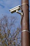 Câmara de vigilância Imagens de Stock Royalty Free