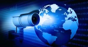 Câmara de vigilância Fotos de Stock