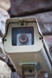 Câmara de vigilância da segurança Fotografia de Stock