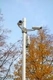 Câmara de vigilância da segurança do CCTV Imagem de Stock Royalty Free