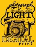 Câmara digital ilustração royalty free