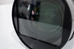 Câmara digital do filtro da lente da limpeza pelo álcool Imagem de Stock Royalty Free