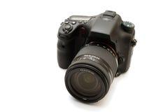 Câmara digital permutável da lente Fotografia de Stock