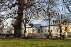 A câmara do canto do convento de Novodevichy em Moscou Fotos de Stock Royalty Free