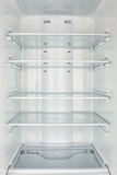 A câmara do congelador aberta esvazia Imagens de Stock Royalty Free
