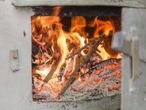 Câmara do fogo do potenciômetro da destilação Foto de Stock Royalty Free