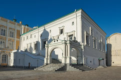 Câmara lapidada do Kremlin de Moscou imagem de stock royalty free