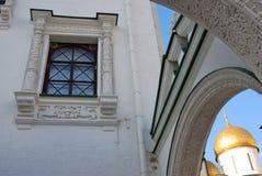 Câmara lapidada do Kremlin de Moscou Foto a cores Fotografia de Stock Royalty Free