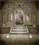 Câmara medieval 1 ilustração do vetor