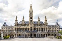 A câmara municipal é a matriz de Vienna' administratio do municipal de s Foto de Stock Royalty Free