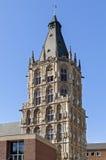 Câmara municipal antiga da torre, água de Colônia, Alemanha Imagem de Stock