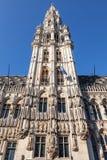 Câmara municipal antiga de Bruxelas, Bélgica Imagem de Stock Royalty Free