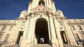 A câmara municipal bonita de Pasadena, Los Angeles, Califórnia filme