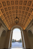 A câmara municipal bonita de Pasadena perto de Los Angeles, Califórnia Fotos de Stock