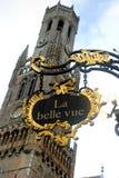 Câmara municipal, Bruges Foto de Stock